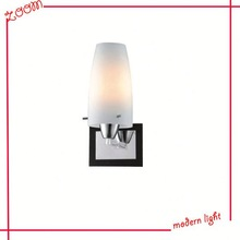 promotion glass shade headboard reading wall lamp