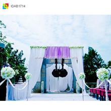 IDA high end party supplies backdrop curtain for birthday/ wedding/ theme party decor