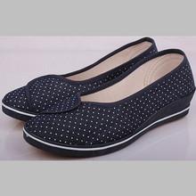 2015 Comfortable dot canvas export surplus shoes