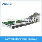 suzhou anruisi full automatic machine price of hot melt glue laminating machine for corrugated paper box
