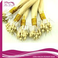 Hot selling virgin european micro braid weft