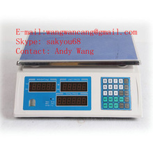 2015 NEW best hot -sale High quality and good price ISO9001 CE OIML 15kg/30kg/40kg food weighing scales