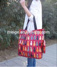 BSCI Audit factory non woven shopping bag / reusable shopping bag / promotional cheap logo shopping bag