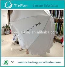 steel frame nylon easy practical economic outdoor solar beach umbrella