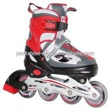 Aluminum chassis black roller skates
