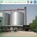 utilizados galvanizado silo de armazenamento para o armazenamento de grãos