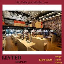 Unique decoration furniture bicycle display rack