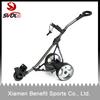 Motor caddy golf trolley with LCD digital handle
