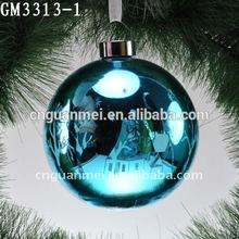 Delicate Printable Glass Hanging Christmas Balls