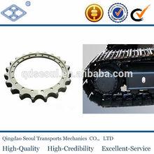 ASA 140 44.45*25.4mm ANSI standard pitch 44.45 C45 50T 28A-1 roller chain excavator sprocket