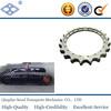 ASA 140 44.45*25.4mm ANSI standard pitch 44.45 C45 57T 28A-1 roller chain excavator sprocket