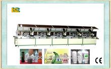 5 colores automatico uv schermo della stampante/diametro lcb-120uv-5 bottiglia di vino