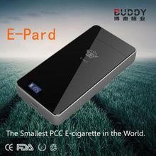 2014 newest design rechargeable e cig smart pcc E-pard real feeling e cigarette PCC disposable ecig