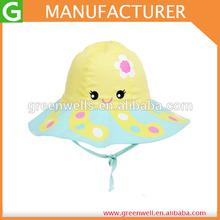 Lovely Baby Girls Cartoon Summer Hats Wide Brim Bonnet Hats,Baby Sun Hats Kids Caps Girl Headwear