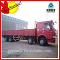 De carga grandes van/howo camión de carga desde china alibaba