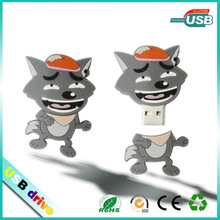 animal shape usb flash drive