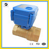 2 way electric valve for heater water 24v brass
