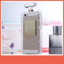 Luxury perfume bottle case for iphone,perfume bottle phone case for iphone 5/5s