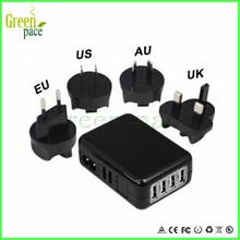 US/ EU/UK/AU e cig wall charger adaptor,high quality AC adaptor for electronic cigarette