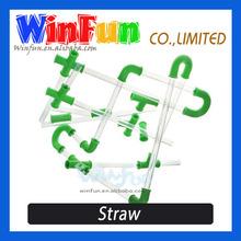 Novel Hard Plastic Drinking Straw DIY Personal Straw Funny Drinking Straws