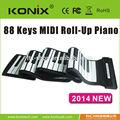 la parte superior de la marca profesional de alta calidad digital de piano