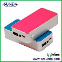 China manufacturer Sunda New products portable super slim power bank
