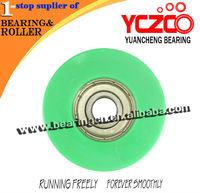 hot sale U groove nylon channel rollers
