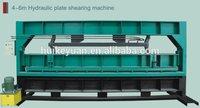 digital hydraulic plate shearing machine