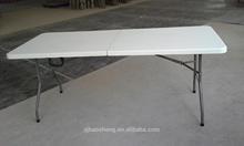 blow mold furniture 6FT rectangular outdoor & garden folding table