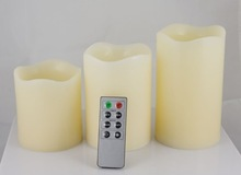 Garden decorative led flameless candle