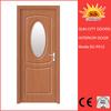 Factory price single interior PVC MDF door
