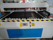 Guangzhou Hanma HM-1325 large scale plexiglas/ organic glass laser cutting machine