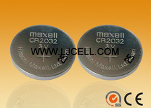 maxell watch battery CR2032 3V lithium battery in bulk packing
