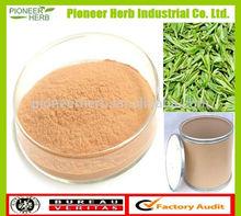 100% natural instant tea powder green tea extract p.e.
