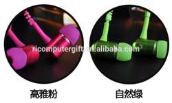 high quality fashionable zip earphones