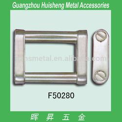 Hot selling side release metal buckle of bag accessories