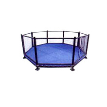 International octagonal cage Soviet-style Used Boxing Rings for sale