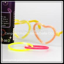 Promotion Glow Glasses / Glow Stick / LED Flashing Glasses/Love Heart glow stick Glow Glasses