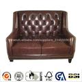 2014 atacado alta qualidade novo modelo de madeira sofá de couro design