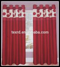 100%polyester luxury turkish wholesale blackout window curtain