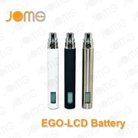 Jomo Tech Manufacturer Best seller ego lcd screen battery battery 3.0~6.0V variable voltage electric cigarette