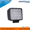 EPISTAR Flood Or Spot Beam 48W Square Vehicle LED Lights