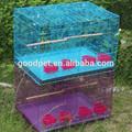 gaiolas criador empilhável gaiolas de pássaros