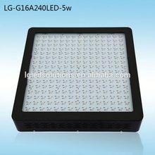 Free Shipping LG-G16A240LED-5w led vegetative grow light 1200watt Stock in US/AU/UK
