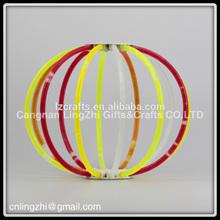 custom wholesale bracelet glow stick/ glow necklace,glow ring,glow stick,glow glasses,mini glow stick