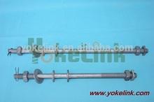 ANSI /IEEEC135.31 Twin/double upset spool bolt