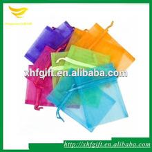 Sheer organza hair extensions packaging bags