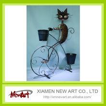 manufacturer price frog metal flower pot fancy decorative metal enamel planter