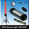 RGD 2030 Red or white LED warning light batons Retractable emergency light