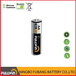 Size AA battery Carbon Zinc R6 battery